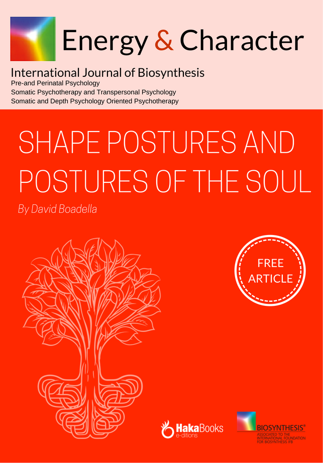 Shape postures and postures of the soul