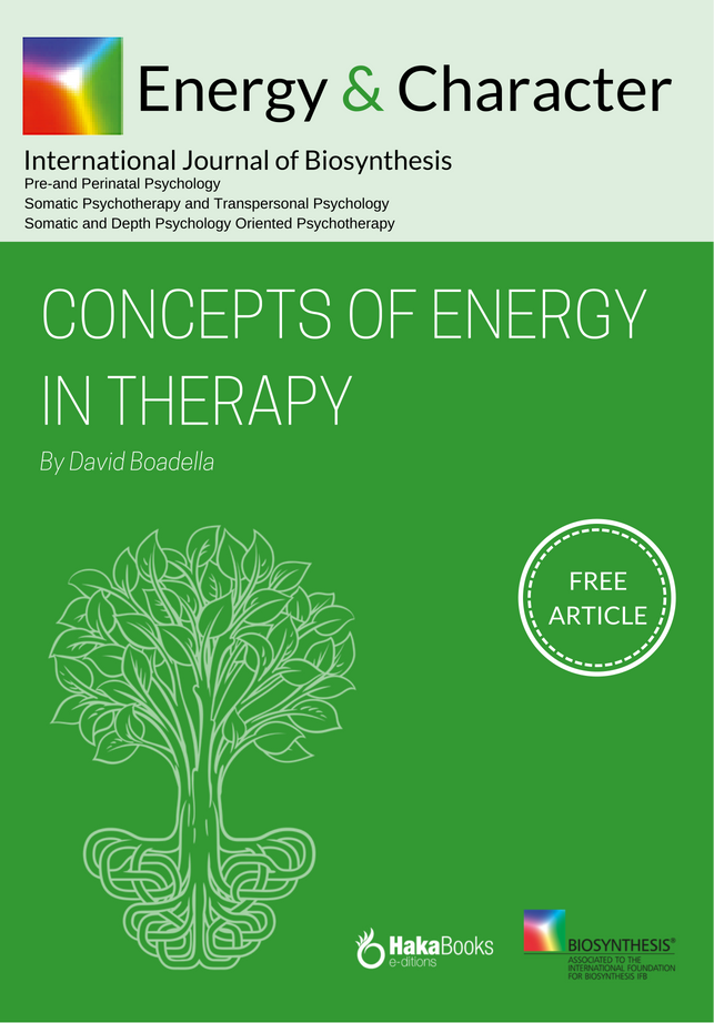 Concepts of energy in therapy